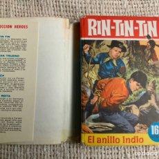 Tebeos: COLECCION HEROES Nº 17 , RIN-TIN-TIN, EL ANILLO INDIO - EDITA: BRUGUERA , 2ª EDICION 1965. Lote 178321263
