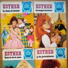 Tebeos: LOTE ESTHER JOYAS LITERARIAS JUVENILES (BRUGUERA, 1978-1981). NÚMEROS 10-19-20-39-42-45-55-57-64-65.. Lote 178328421