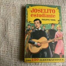 Tebeos: COLECCION HISTORIAS SELECCION, JOSELITO ESTUDIANTE, 1ª EDICIÓN 1963 - EDITA : BRUGUERA. Lote 178335186