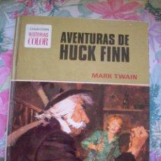 Tebeos: AVENTURAS DE HUCK FINN MARK TWAIN COLECCION HISTORIAS COLOR Nº 4 BRUGUERA. Lote 178341827