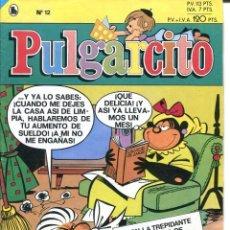 Tebeos: 2 EJEMPLARES PULGARCITO Nº 6-12 AÑO 1986. Lote 178349991