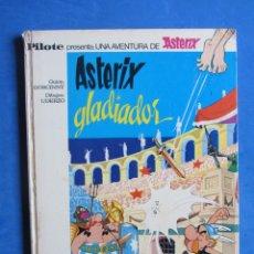 Tebeos: ASTERIX GLADIADOR. BRUGUERA. 1968 PRIMERA EDICIÓN. . Lote 178365765