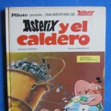 Tebeos: ASTERIX Y EL CALDERO. BRUGUERA. 1970 PRIMERA EDICIÓN. . Lote 178366165