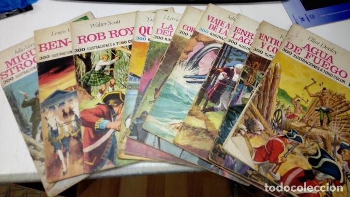 LOTE DE 10 JOYAS LITERARIAS 1ª EDICION - NUMEROS BAJOS 1 7 11 14 18 19 21 27 36 Y 51 - BRUGUERA 70S (Tebeos y Comics - Bruguera - Joyas Literarias)