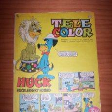 Tebeos: TELE COLOR - NÚMERO 10 - AÑO 1963. Lote 178382520