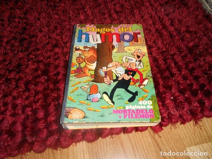 LIBRO DE MORTADELO Y FILEMÓN MAGOS DEL HUMOR VOLUMEN XIX - EDITORIAL BRUGUERA - AÑO 1974 (Tebeos y Comics - Bruguera - Otros)