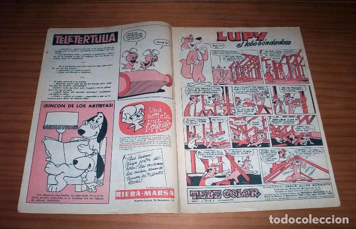 Tebeos: TELE COLOR - NÚMERO 18 - AÑO 1963 - BUEN ESTADO - Foto 2 - 178388297