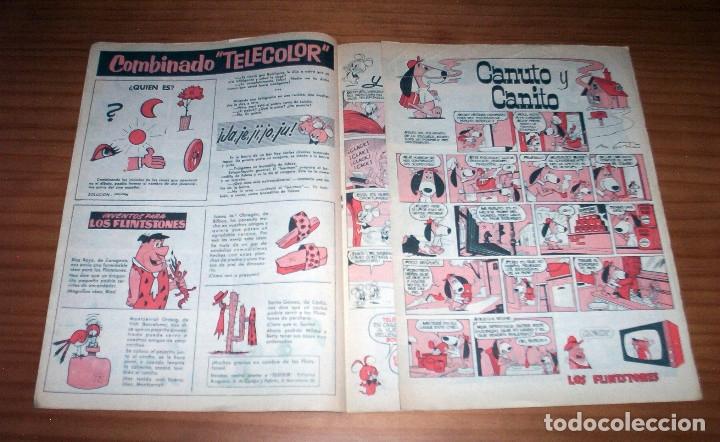 Tebeos: TELE COLOR - NÚMERO 18 - AÑO 1963 - BUEN ESTADO - Foto 5 - 178388297