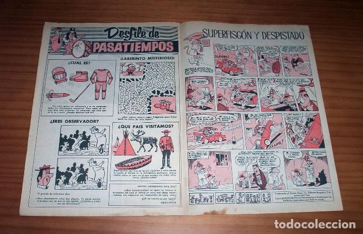 Tebeos: TELE COLOR - NÚMERO 18 - AÑO 1963 - BUEN ESTADO - Foto 9 - 178388297