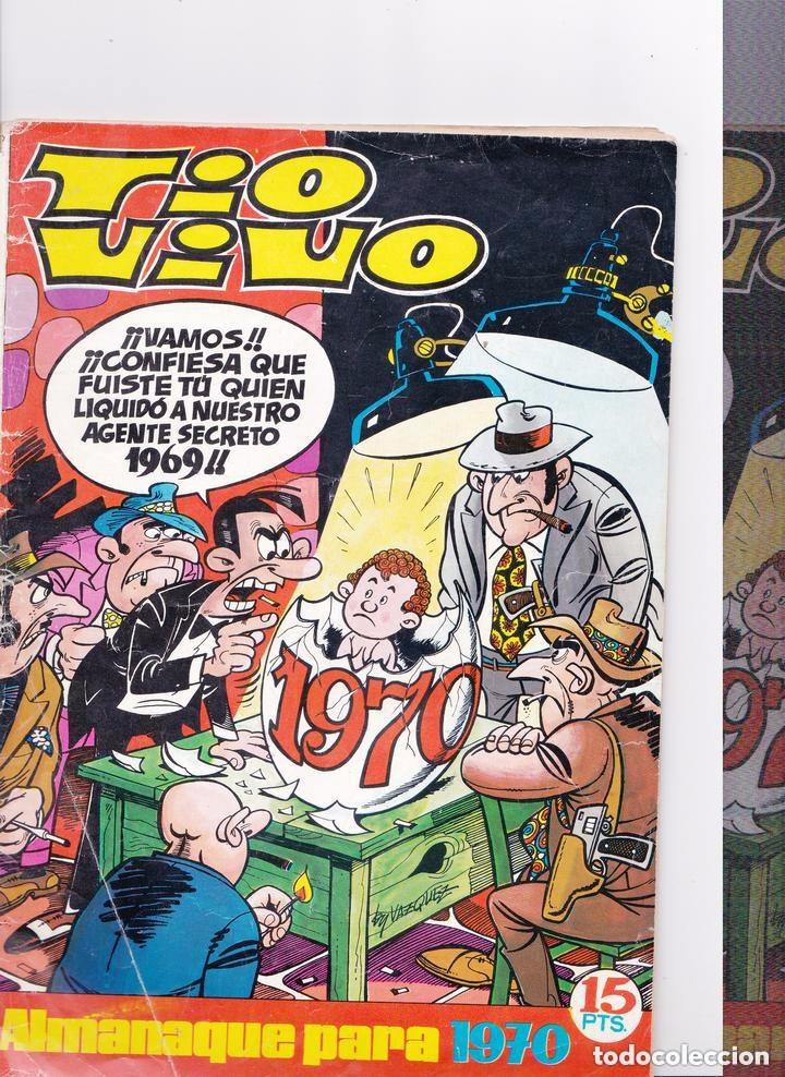 Tebeos: Tio Vivo almanaque 1970 - Foto 2 - 178448285