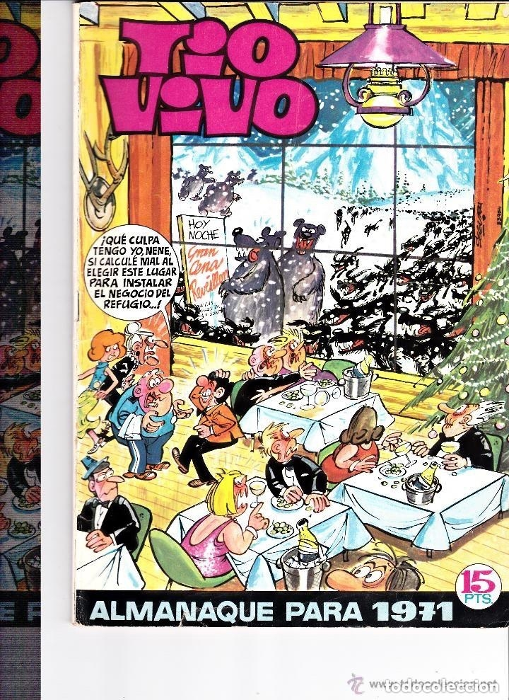 TIO VIVO ALMANAQUE 1971 (Tebeos y Comics - Bruguera - Tio Vivo)