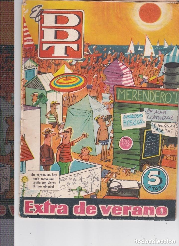 EXTRA DE VERANO DDT (5 PTS (Tebeos y Comics - Bruguera - DDT)