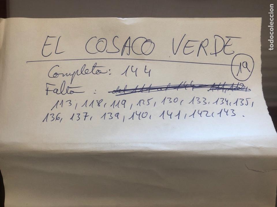 Tebeos: EL COSACO VERDE - colección incompleta de 129 cómics de 143 - Foto 2 - 178556482