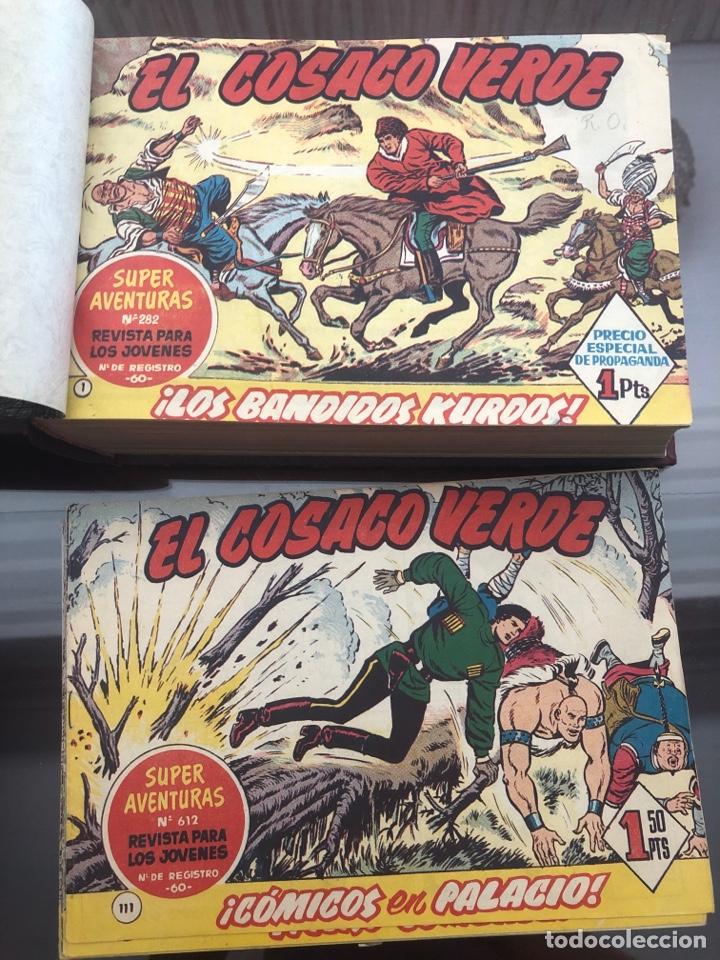 EL COSACO VERDE - COLECCIÓN INCOMPLETA DE 129 CÓMICS DE 143 (Tebeos y Comics - Bruguera - Cosaco Verde)