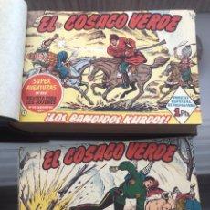 Tebeos: EL COSACO VERDE - COLECCIÓN INCOMPLETA DE 129 CÓMICS DE 143. Lote 178556482