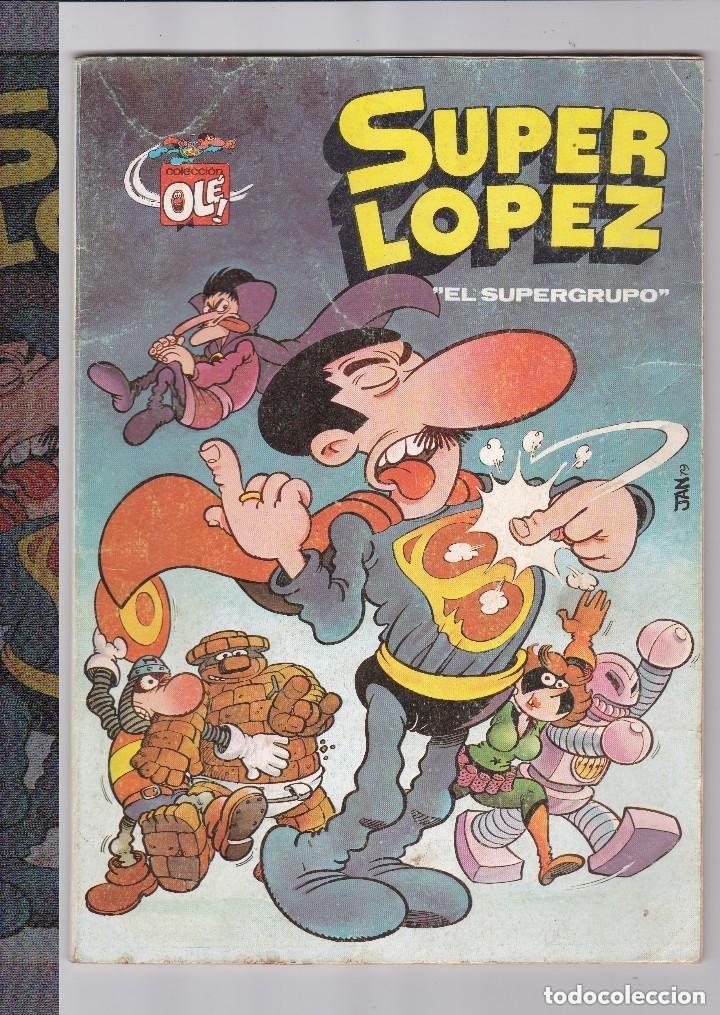 SUPER LOPEZ-EL SUPERGRUPO- Nº2 (Tebeos y Comics - Bruguera - Otros)