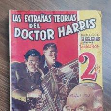 Tebeos: BIBLIOTECA IRIS. LAS EXTRAÑAS TEORÍAS DEL DOCTOR HARRIS POR A.H. VARRILL. BRUGUERA 194?. Lote 178576550