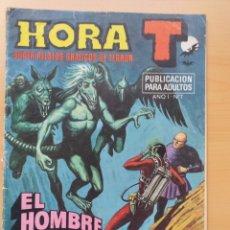 Tebeos: HORA T. EL HOMBRE ARAÑA. NUM 7 COMPLICES DEL CRIMEN.. Lote 178581251