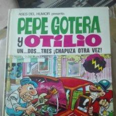 Tebeos: ASES DEL HUMOR Nº 18. PEPE GOTERA Y OTILIO UN DOS TRES CHAPUZA OTRA VEZ. BRUGUERA 1972. Lote 178585247