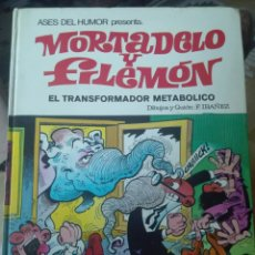 Tebeos: ASES DEL HUMOR Nº 38. MORTADELO Y FILEMÓN EL TRANSFORMADOR METABÓLICO 1ª EDICIÓN 1979. Lote 178586262