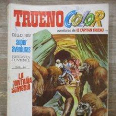 Tebeos: CAPITAN TRUENO - TRUENO COLOR - Nº 199 - SUPER AVENTURAS - BRUGUERA . Lote 178595727