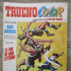 Tebeos: CAPITAN TRUENO - TRUENO COLOR - Nº 232 - SUPER AVENTURAS - BRUGUERA . Lote 178596366