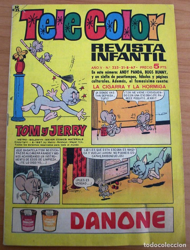 TELE COLOR - Nº 233 - AÑO 1967 - MUY BUEN ESTADO (Tebeos y Comics - Bruguera - Tele Color)