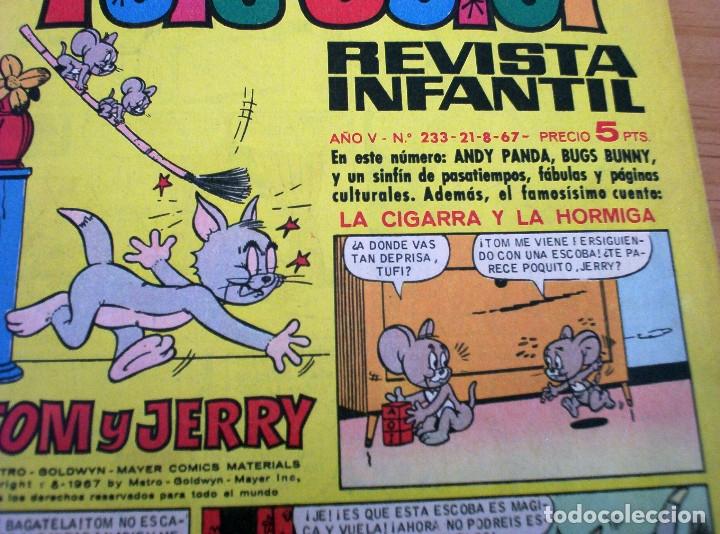 Tebeos: TELE COLOR - Nº 233 - AÑO 1967 - MUY BUEN ESTADO - Foto 2 - 178598208