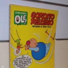 Tebeos: COLECCION OLE Nº 24 GORDITO RELLENO TONTORRON DE BUENA PASTA - 1ª EDICION 1971 BRUGUERA . Lote 178614541