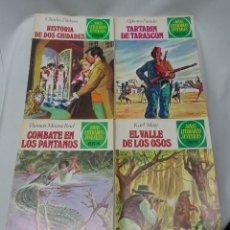 Tebeos: LOTE DE 4 CÓMICS DE LA COLECCIÓN JOYAS LITERARIAS JUVENILES, VER FOTOS. Lote 178644691