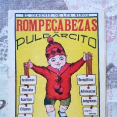 Tebeos: ROMPECABEZAS DE PULGARCITO, RARO. Lote 178748897