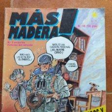 Tebeos: MAS MADERA NUM 10. 2 TALEGOS Y AL CONCIERTO . Lote 178792697