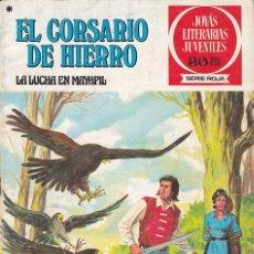 Tebeos: COMIC COLECCION EL CORSARIO DE HIERRO Nº 38. Lote 178842888