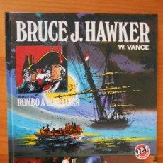 Tebeos: BRUCE J. HAWKER - RUMBO A GIBRALTAR - TAPA DURA - BRUGUERA (S). Lote 178890731