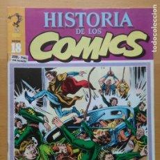 Tebeos: HISTORIA DE LOS COMICS Nº 18 TOUTAIN 1982 CON CAPITAN TRUENO DE AMBROS. Lote 178913738
