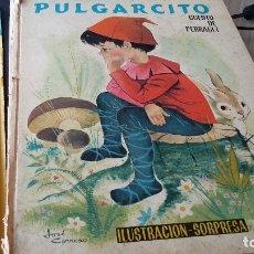 Tebeos: LOTE 7 PULGARCITO INCLUYE ILUSTRACION SORPRESA. Lote 178975155