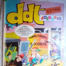 Giornalini: DDT EXTRA JOLGORIO -Nº 55 -EXTRAS- PLURILÓPEZ-M. SCHMIDT-JOSEP NEBOT-BUENO-DIFÍCIL-1984-2137. Lote 179037435