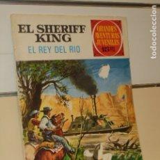 Tebeos: GRANDES AVENTURAS JUVENILES Nº 51 EL SHERIFF KING EL REY DEL RIO - BRUGUERA. Lote 179038071