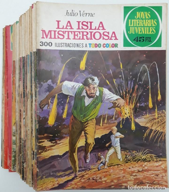 LOTE JOYAS LITERARIAS JUVENILES Y SUPER JOYAS (49 EJEMPLARES) VER RELACIÓN Y FOTOS (Tebeos y Comics - Bruguera - Joyas Literarias)