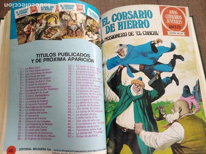 Tebeos: TOMO EL CORSARIO DE HIERRO DEL 41 AL 50 - Foto 2 - 179068673