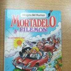 Tebeos: MORTADELO Y FILEMON EL COCHERITO LERE (MAGOS DEL HUMOR #11) (1ª EDICION ABRIL 1986). Lote 179106380