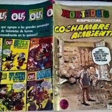 Tebeos: COMIC: MORTADELO ESPECIAL COCHAMBRE AMBIENTAL Nº 196 ESTEBAN MAROTO 270 JOYAS LITERARIAS (A). Lote 179119041