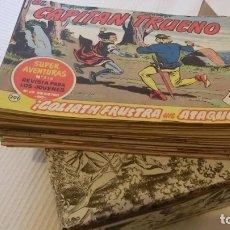 Tebeos: CAPITAN TRUENO GRAN LOTE ORIGINALES 418 NUMEROS SEGUIDOS.. Lote 179151806