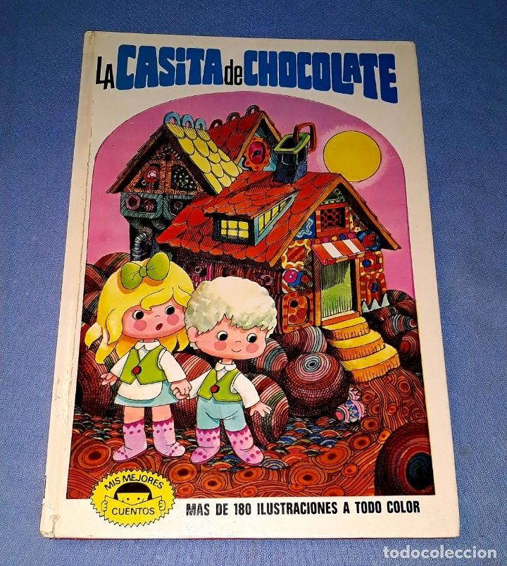 LA CASITA DE CHOCOLATE ILUSTRACIONES JAN EDITORIAL BRUGUERA 1ª EDICION AÑO 1973 (Tebeos y Comics - Bruguera - Otros)
