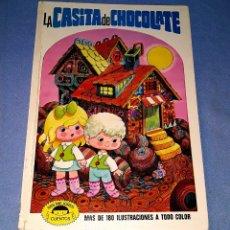 Tebeos: LA CASITA DE CHOCOLATE ILUSTRACIONES JAN EDITORIAL BRUGUERA 1ª EDICION AÑO 1973. Lote 179182146