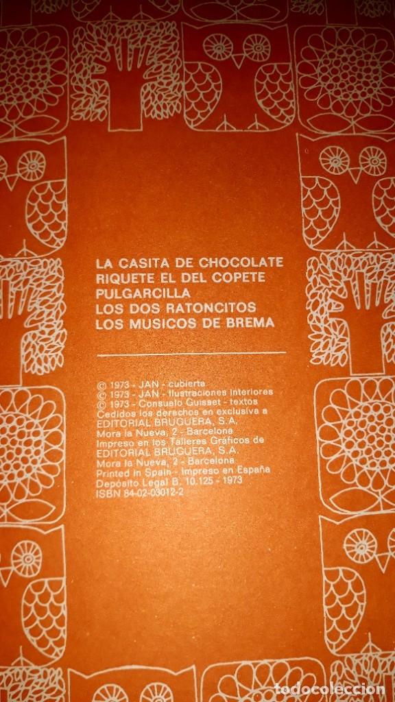Tebeos: LA CASITA DE CHOCOLATE ILUSTRACIONES JAN EDITORIAL BRUGUERA 1ª EDICION AÑO 1973 - Foto 2 - 179182146