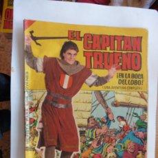 Tebeos: CAPITAN TRUENO GIGANTE Nº 4 ORIGINAL BRUGUERA. Lote 179222023