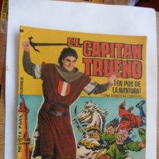 Tebeos: CAPITAN TRUENO GIGANTE Nº 12 ORIGINAL BRUGUERA. Lote 179226838