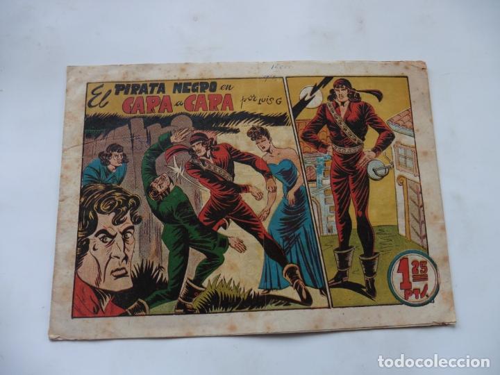 PIRATA NEGRO Nº 4 BRUGUERA ORIGINAL (Tebeos y Comics - Bruguera - Otros)