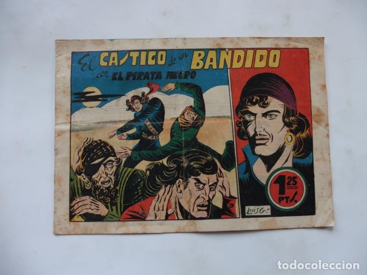 PIRATA NEGRO Nº 8 BRUGUERA ORIGINAL (Tebeos y Comics - Bruguera - Otros)